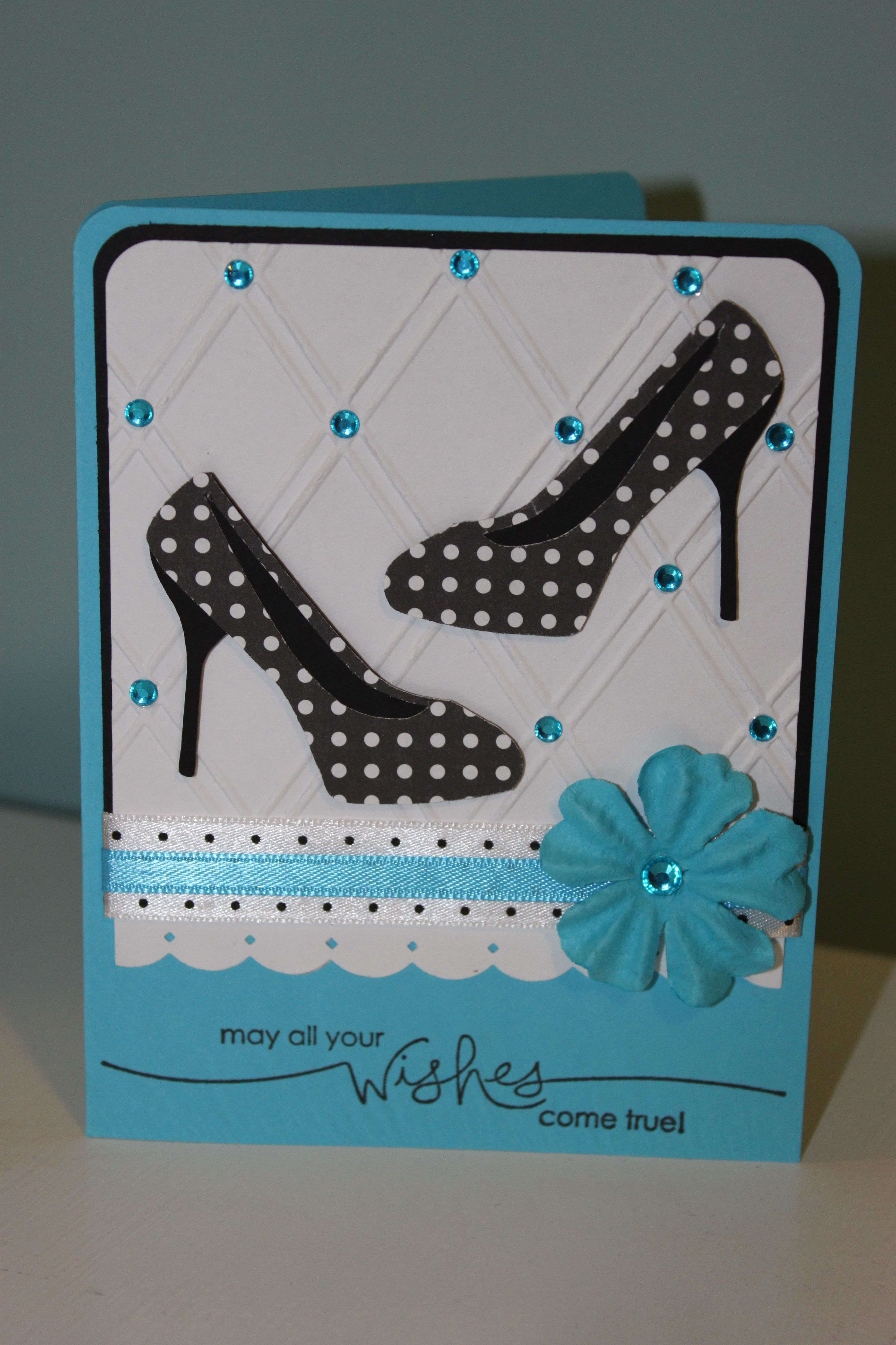 d3fe0b1a005 Birthday, Shoes are from the Forever Young Cartridge | My Cards ...
