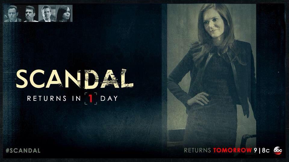 Scandal returns Jan 29!