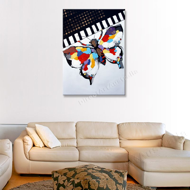 Colorful Butterfly, Amazing wall art - Direct Art Australia, Price: $149.00,  Availability: Delivery 10 - 14 days,  Shipping: Free Shipping,   Minimum Size: 50 x 60cm,  Maximum Size: 90 x 120cm,  Up to 70% cheaper than mainstream galleries who pay agent commissions and gallery overheads.  http://www.directartaustralia.com.au/