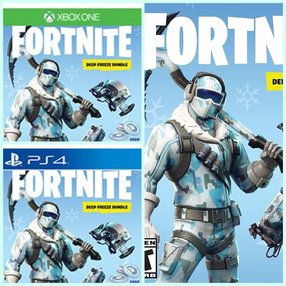 Fortnite Deep Freeze Bundle Ps4 Xbox Switch Pre Sale Get On Release