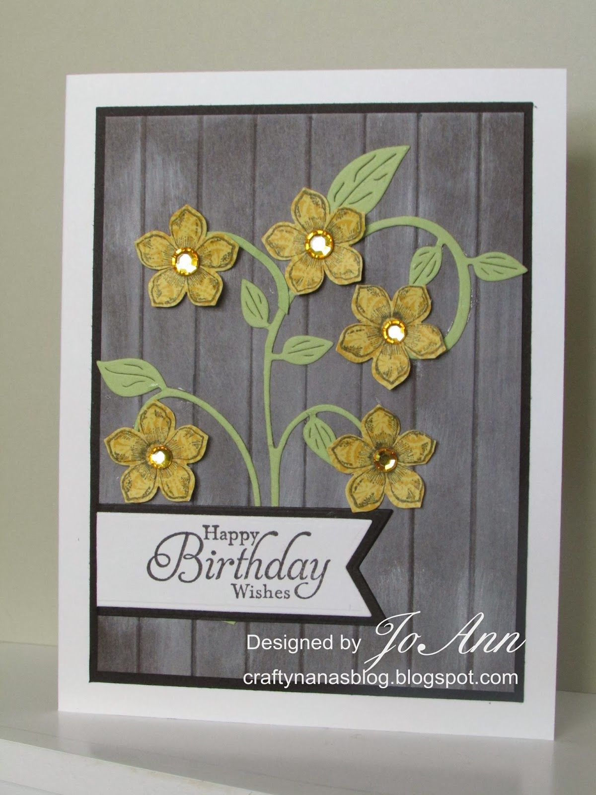 Crafty nanaus blog happy birthday wishes for jugs petite