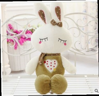 49.00$  Watch here - http://alizyu.worldwells.pw/go.php?t=32762310943 - about 70cm lovely green rabbit plush toy doll, soft pillow , birthday gift Xmas gift d2199