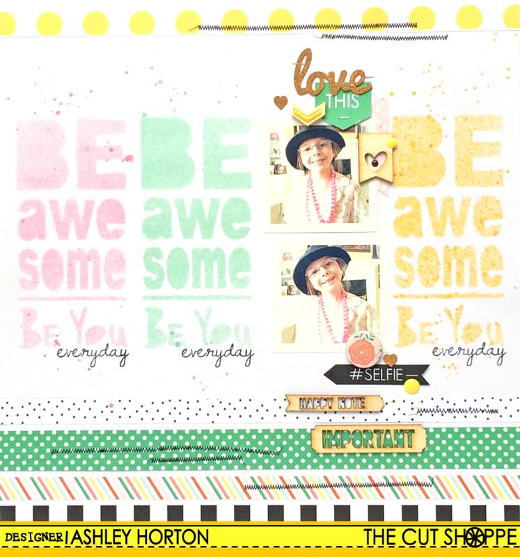 Be Awesome Be You by ashleyhorton1675 at @studio_calico