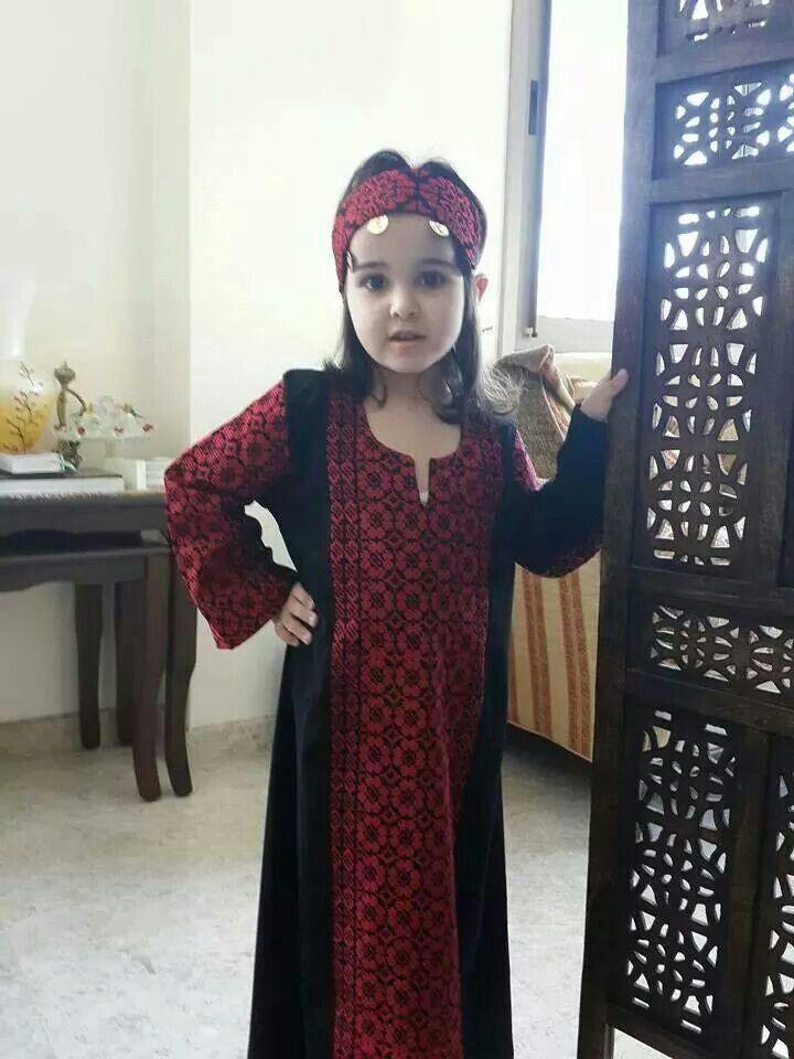 69aa1f825 ثوب تطريز فﻻحي - مطرزات فلسطينية- بنات فلسطين | فلسطينيات ...
