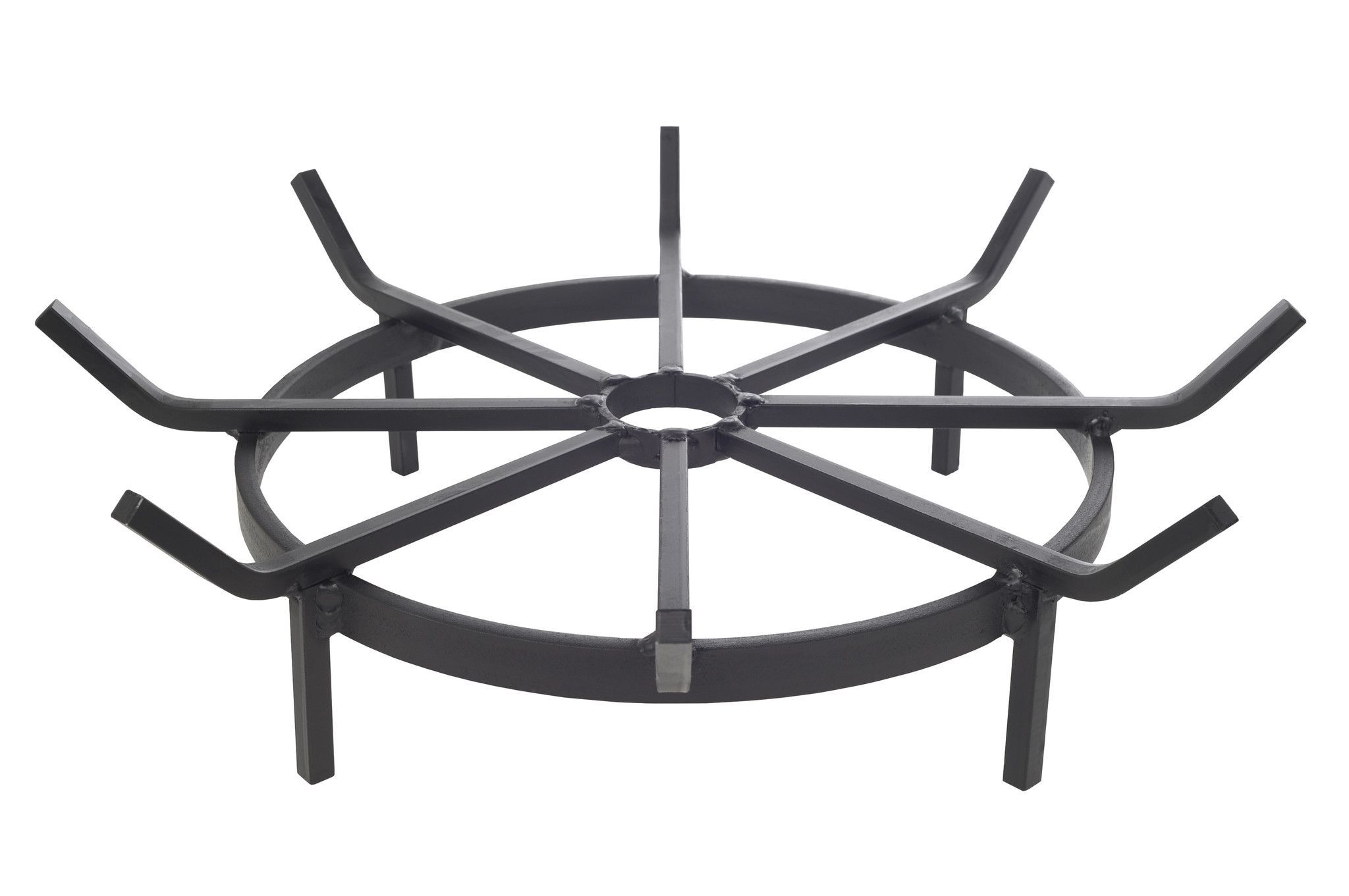 40 Inch Wagon Wheel Fire Pit Grate Wheel Fire Pit Fire Pit Grate Fire Pit Designs