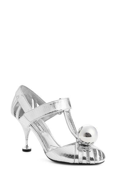 Prada Snakeskin T-Strap Sandals discount lowest price countdown package cheap online beZE0pJ7
