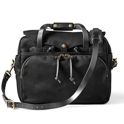 Filson Black Padded Computer Bag FIL-70258-BL