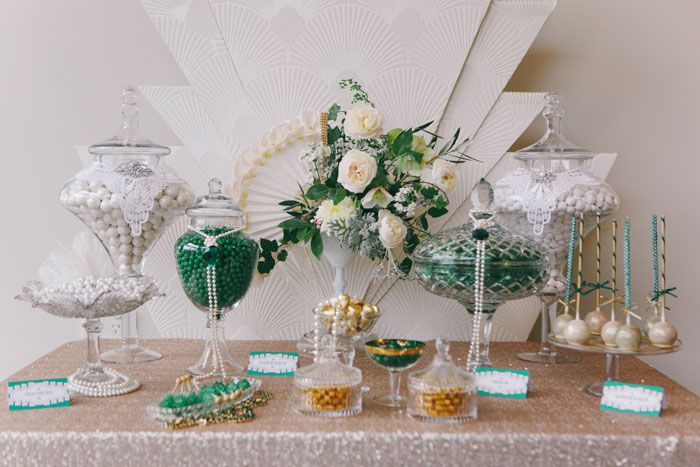 Super Art Deco Inspired Candy Buffet By The Couture Candy Buffet Download Free Architecture Designs Embacsunscenecom