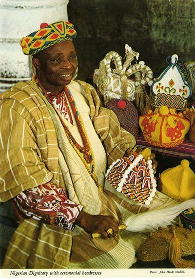 Nigerian Royalty John Hinde Collection (1960s-1970s)