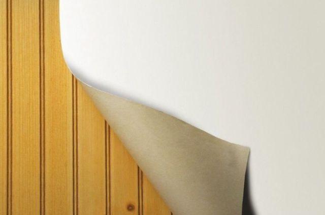 Wall Liner Heavy Duty White Prepasted Wallpaper LPP2