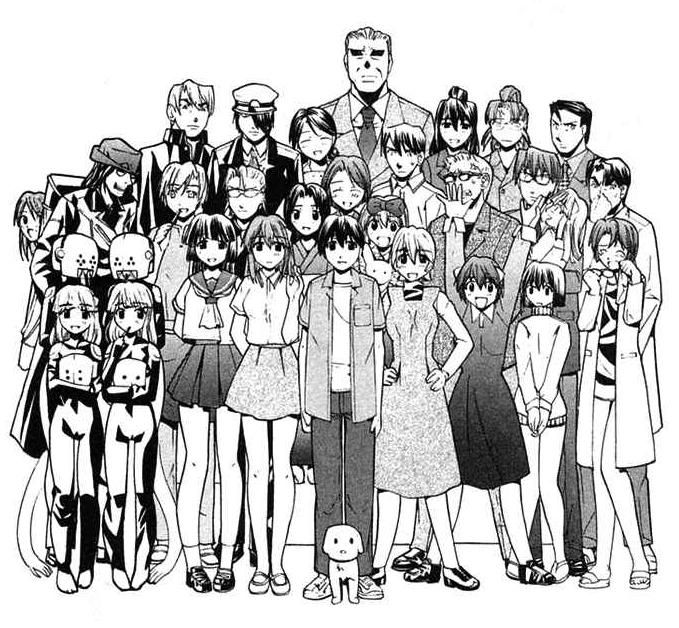Elfen lied cast copyright List of Elfen Lied characters