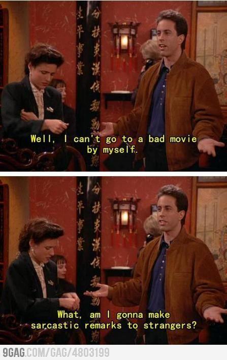Seinfeld Seinfeld Funny Best Seinfeld Quotes Seinfeld