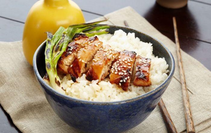 Teriyaki Chicken Rice Bowl Chicken Rice Bowls Teriyaki Chicken Teriyaki Chicken Rice Bowl
