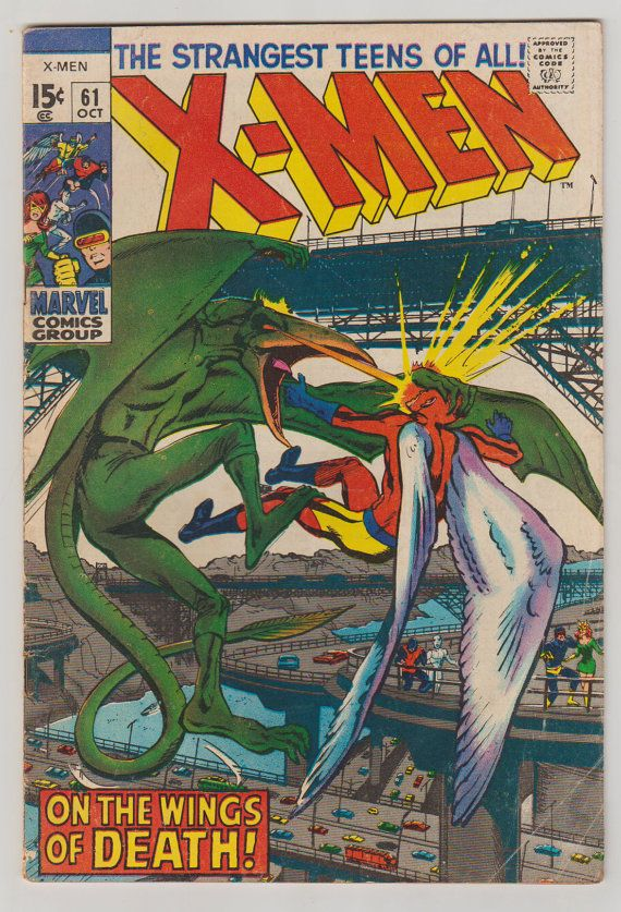 Uncanny X Men Vol 1 65 Comic Book Vg February 1970 Marvel Comics Silver Age Comics Classic Comic Books Marvel Comics