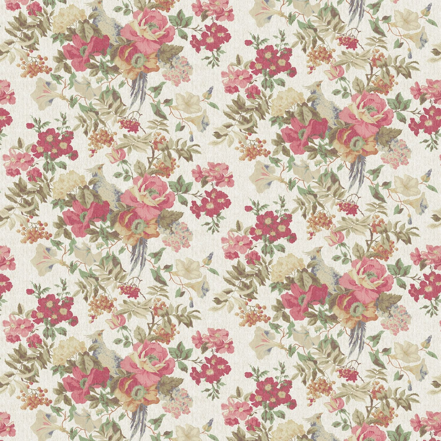 Vintage Floral Wallpaper HD For PC