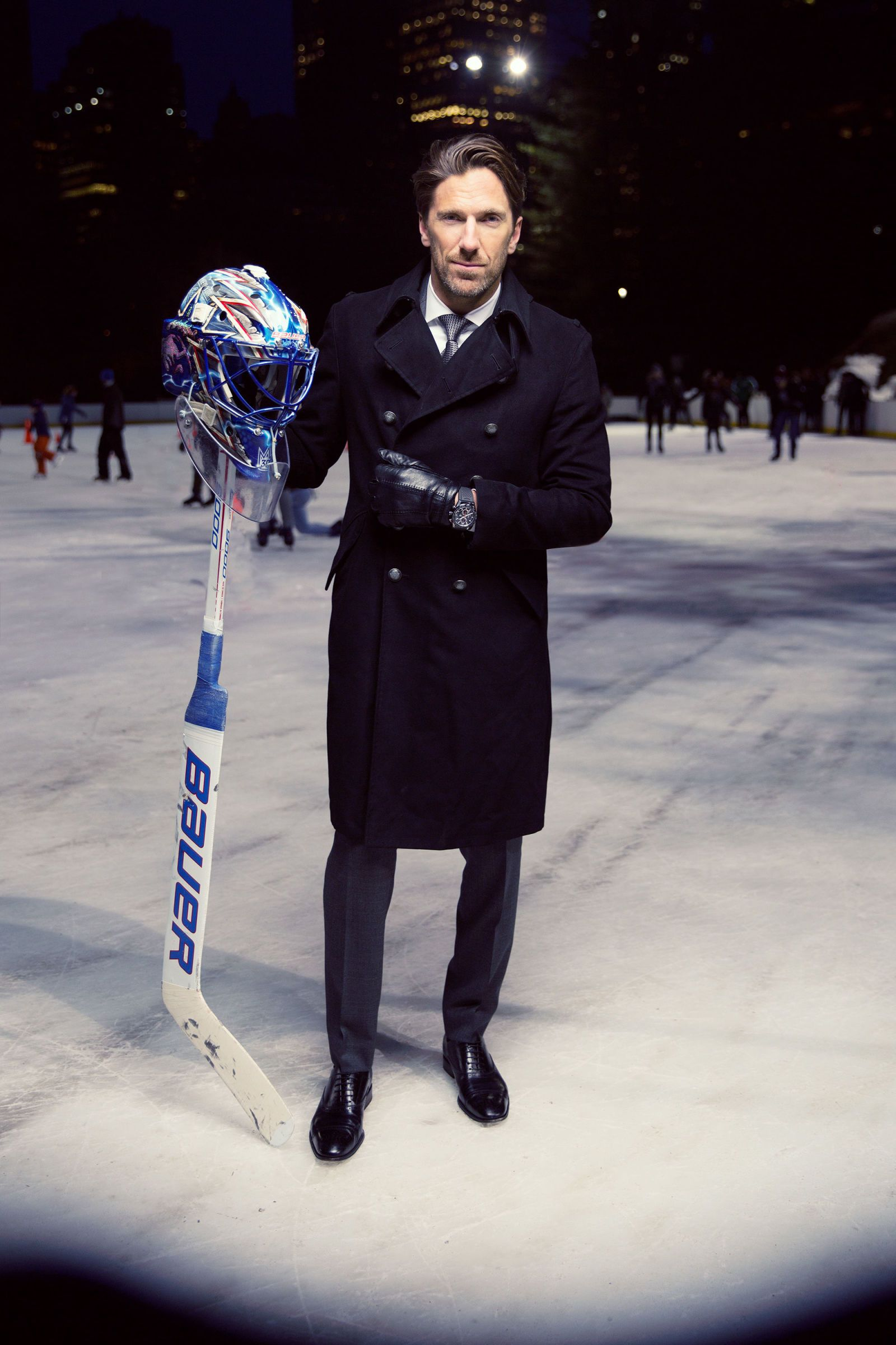 Henrik Lundqvist Is A King On And Off The Ice New York Rangers