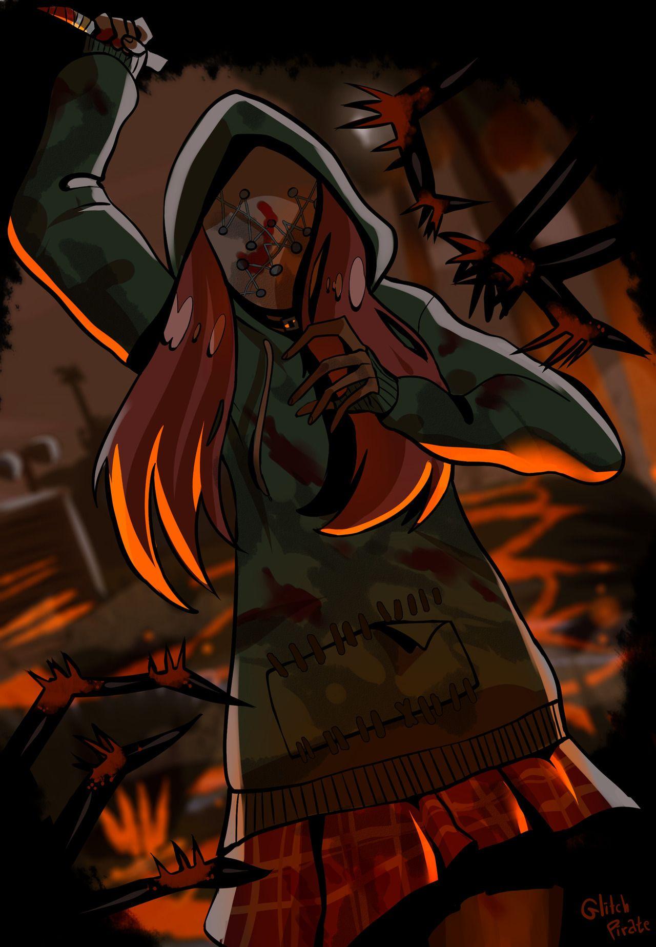 Legiterally A Mess Anime art dark, Creepy pasta comics