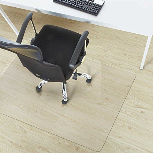 Polycarbonate Chair Mat For Carpet Floors High Pile X Multiple Sizes Clear Studded Rectangular Floor Protection
