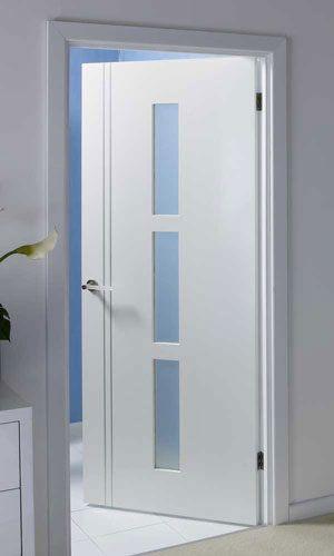 12 Puertas de aluminio modernas blancas