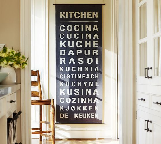 Kitchen Sign Wall Decor Sale Pottery Barn Kitchen Kitchen Signs