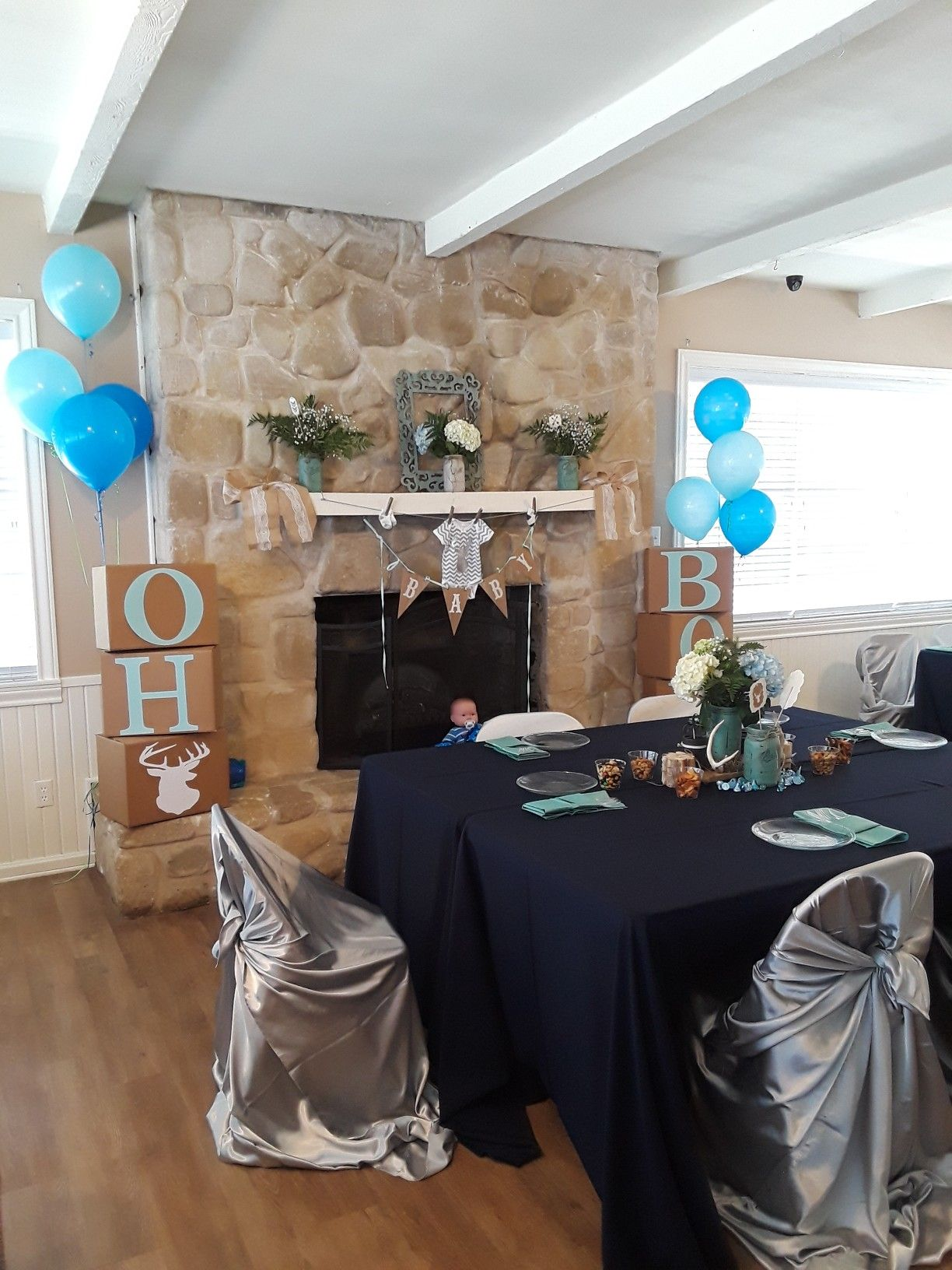 9bedabc9cba1 Oh boy baby shower oh deer rustic