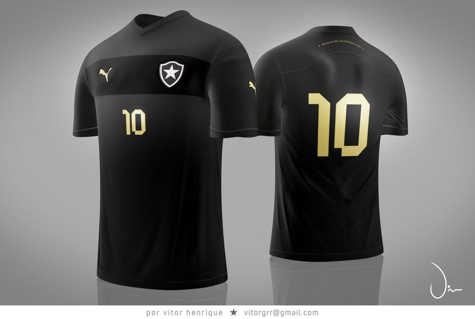 Botafogo Futebol e Regatas - Design created by a fan - Jersey  2 for 2012 2208a8155caf1