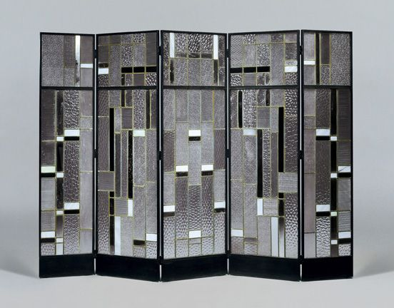 Partition Screen By Louis Barillet Presented Galerie Doria At Design Miami Basel
