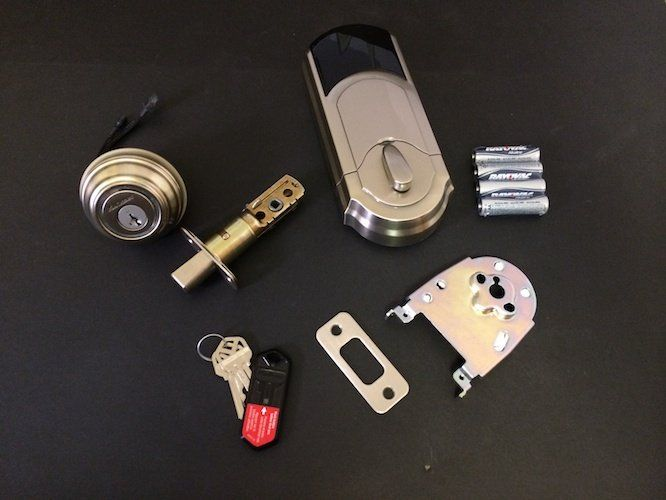 Kwikset\'s new Kevo ($220) is a smart lock for your front door that ...