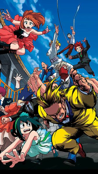 My Hero Academia All Might Ua Class 1 A Student Characters4k Hd Mobile Smartphone And Pc Desktop Laptop Wallpa My Hero Hero Wallpaper My Hero Academia Manga