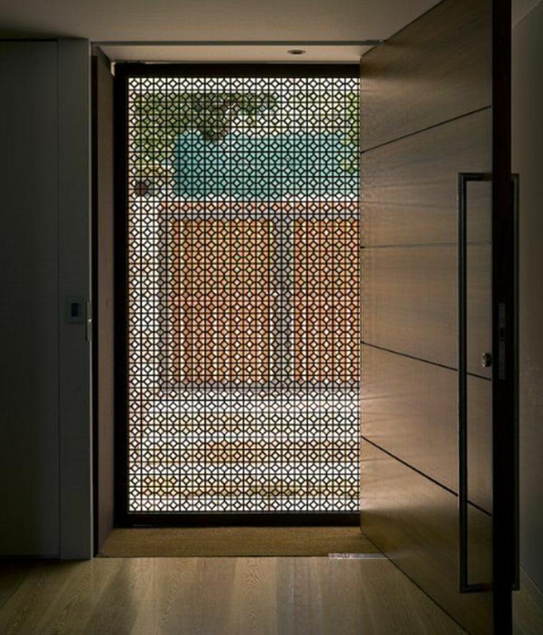 Entrance Doors In Modern Design 49 Models Decoration Ideas