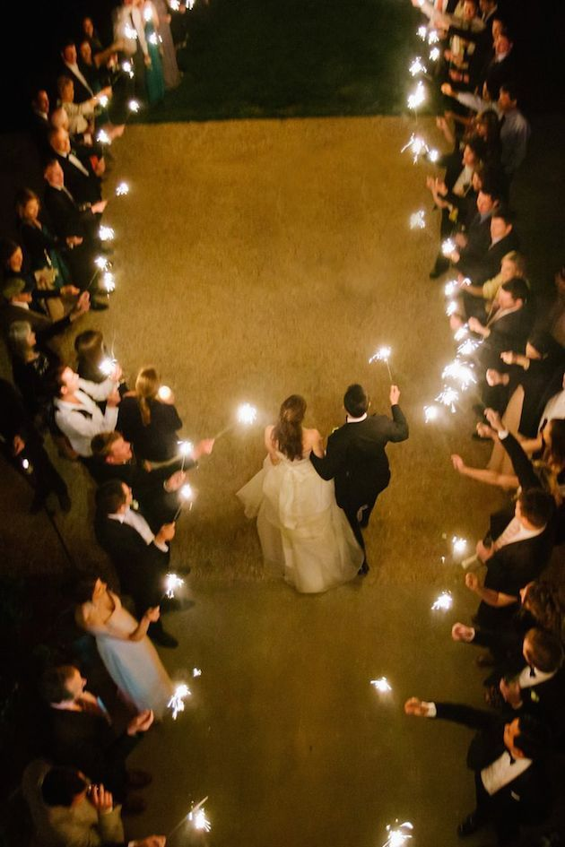 Fireworks and Sparklers | 4th of July Wedding Ideas | Bridal Musings Wedding Blog 19