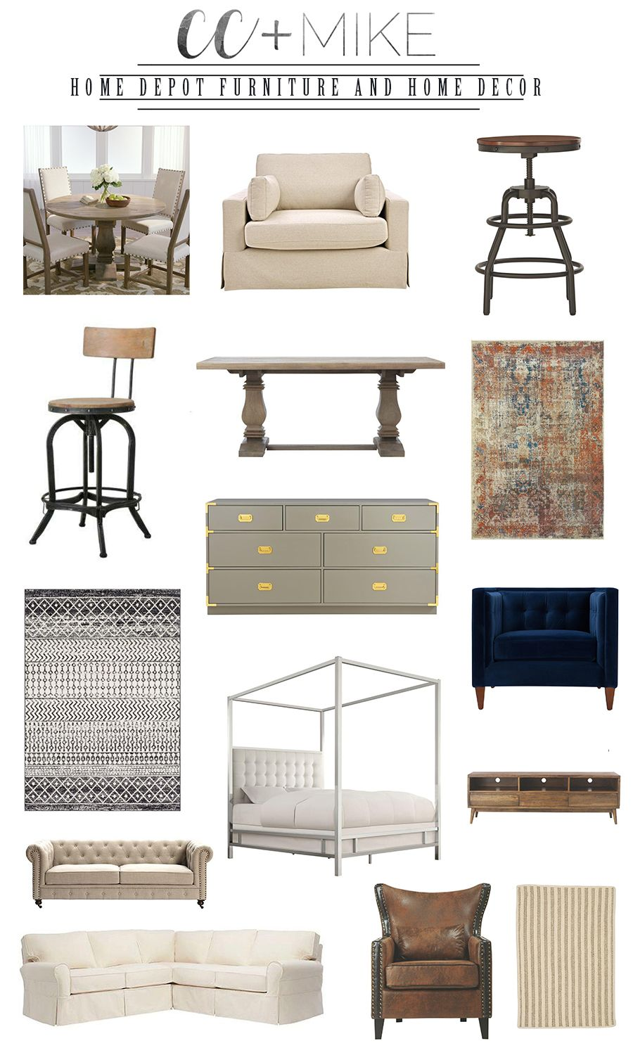 Holiday Decor Favorites From Home Depot Cc And Mike Design Blog Home Home Decor Decor