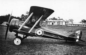 Airco DH.5 - Biplane Scout / Light Bomber.