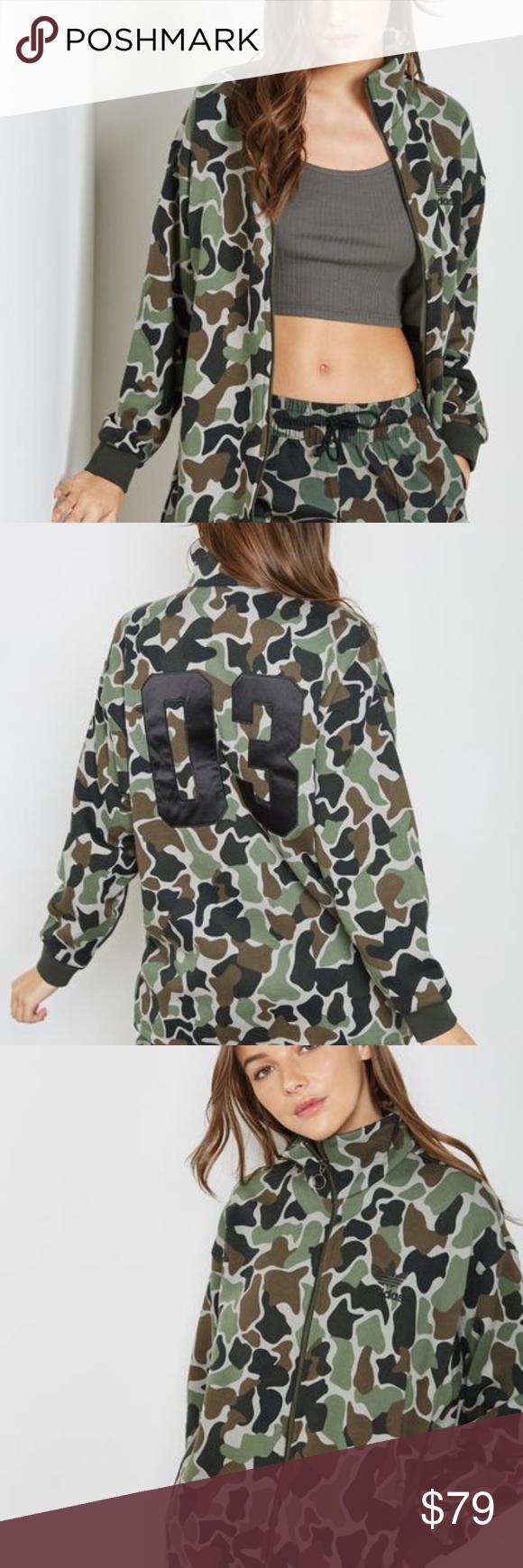Camo Print Trefoil Sweatshirt By Adidas Originals Adidas Outfit Men Sweatshirts Hoodie Print [ 1530 x 1020 Pixel ]