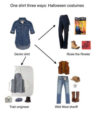 Last-minute Halloween costumes from the thrift store and your closet  sc 1 st  Pinterest & Last-minute Halloween costumes from the thrift store and your closet ...