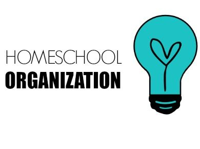 Cover for homeschool organization board!