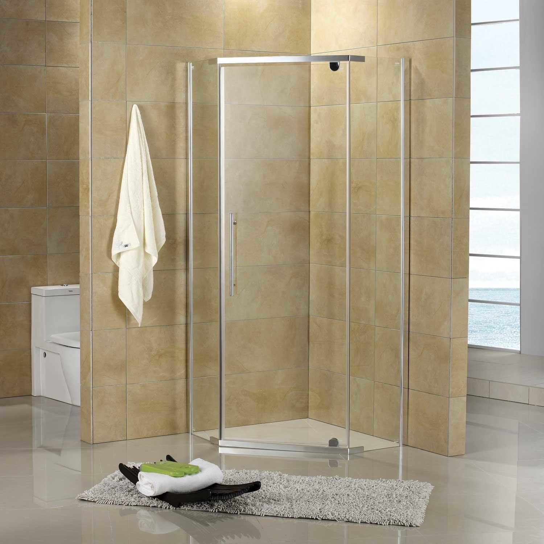 36 X 36 Lexi Neo Angle Corner Shower Enclosure Corner Shower