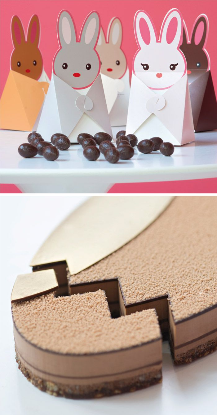 LA PÂTISSERIE DES RÊVES Pâques tout chocolat