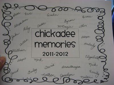 Memory book idea