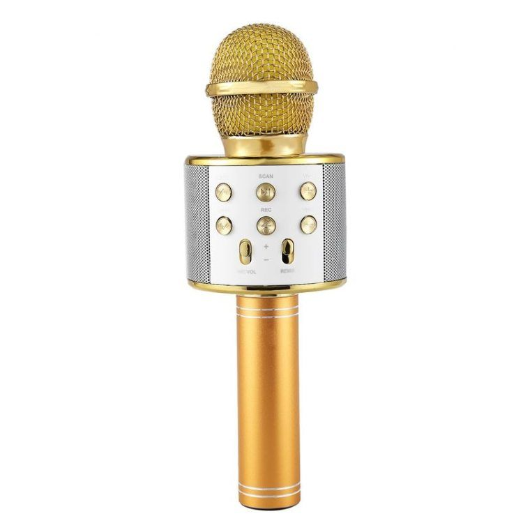 Wireless Karaoke Microphone Portable Bluetooth mini home