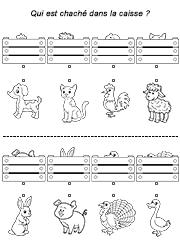 Les Animaux Caches Jeu D Observation A Imprimer Jeux Educatifs Maternelle Jeux Gratuits Pour Enfants Jeux Educatif Pour Enfant