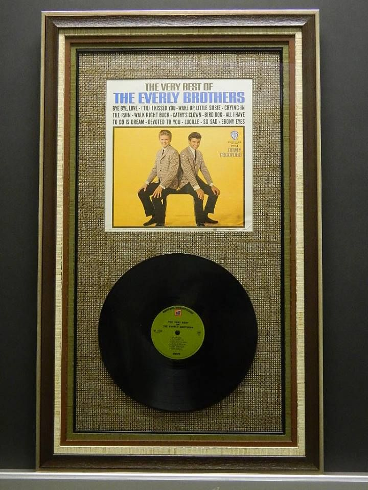 Fastframe Colorado Springs: Everly Brothers shadowbox took 2nd place ...