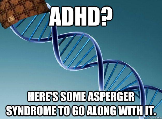 Bildresultat för adhd + asperger