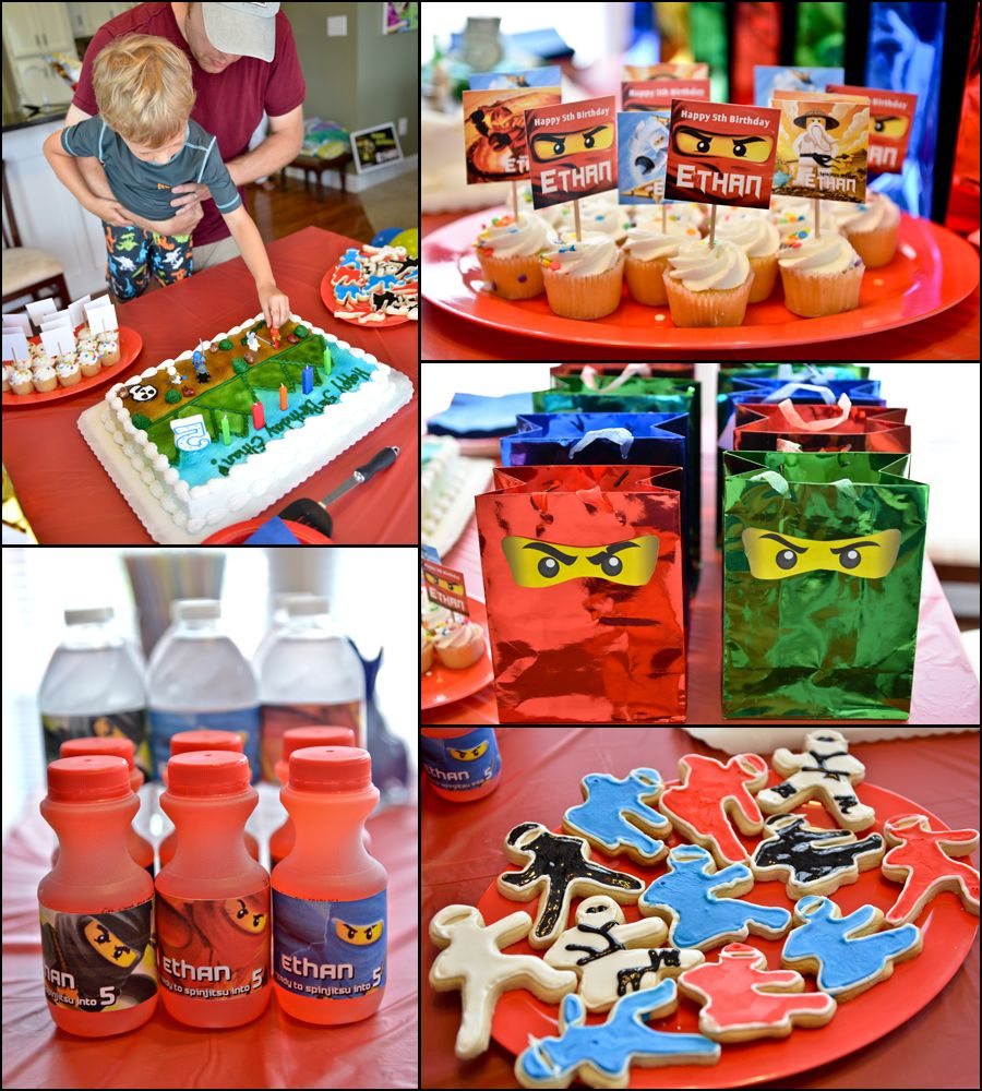Lego Ninjago Party Lego Ninjago Party Ninjago Birthday Party
