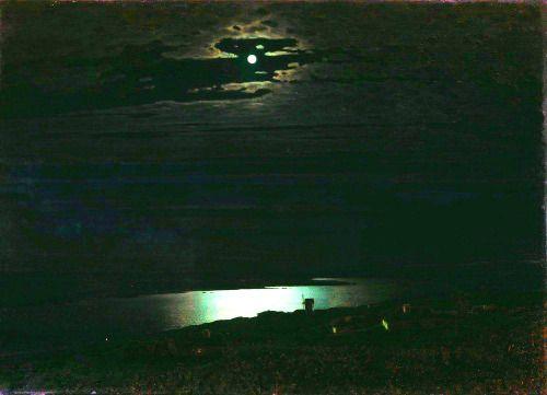nigra-lux:  KUINDZHI Arkhip (1842-1910) Moonlight Night on the...