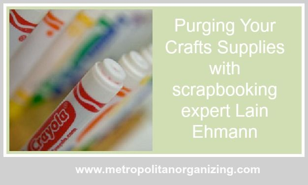 7 Guidelines For Decluttering Craft Supplies
