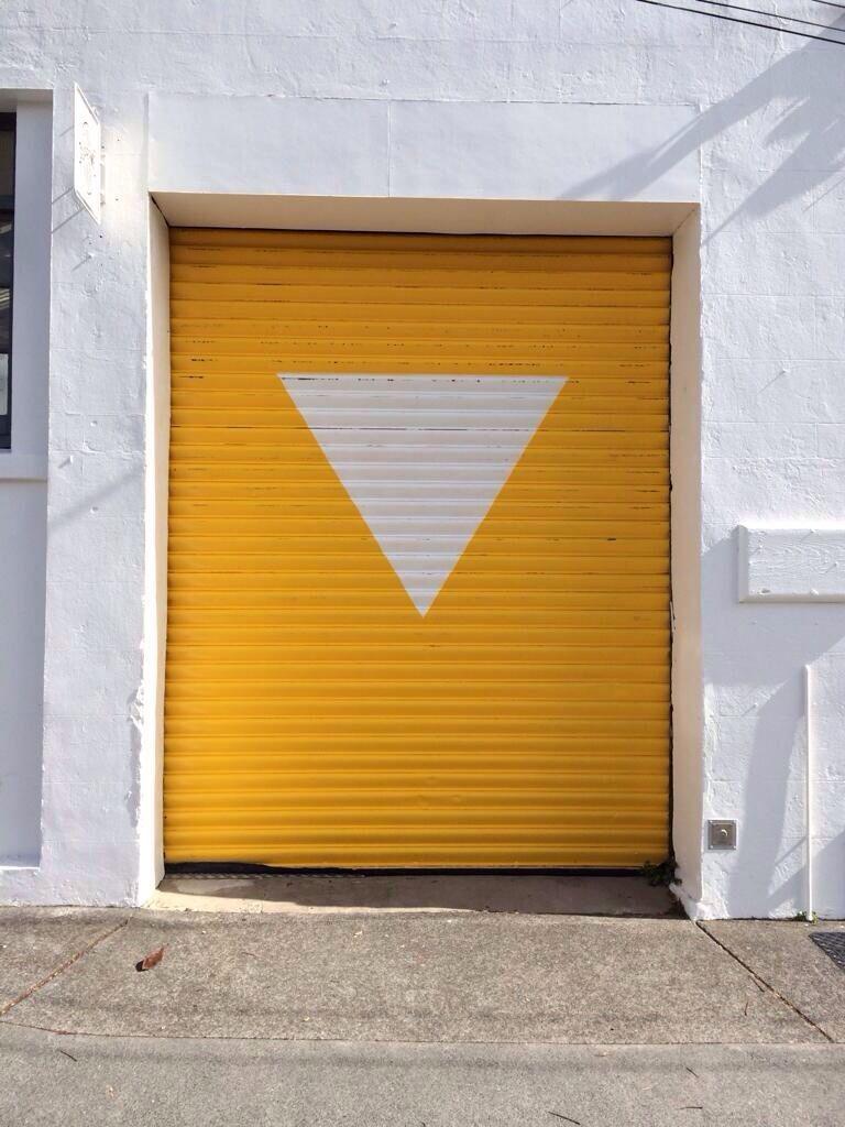 Yellow Door Jamie Mclellan Garage Doors Garage Door Colors Beautiful Doors