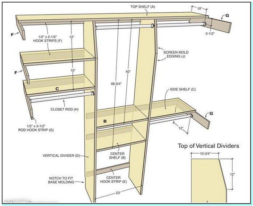 Walk In Closet Dimensions Standard Build A Closet Simple Closet Closet Built Ins
