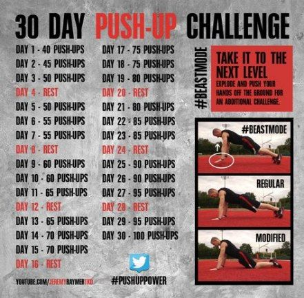21 Ideas Fitness Challenge Arms Push Up #fitness