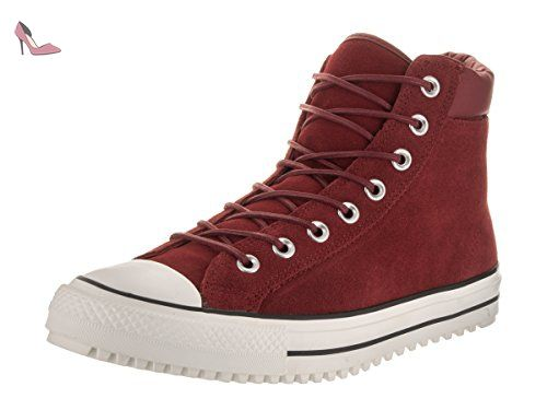 153677C CONVERSE SNEAKERS HIGH MARRON 42 5 Rouge ...